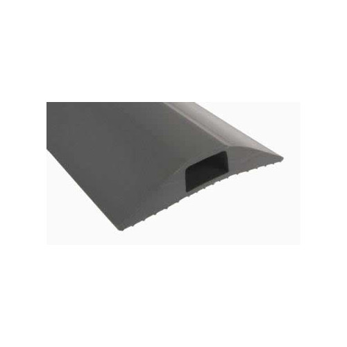 Grey Cable Cover   Hole Size: 16 x 8mm (3m lgth)