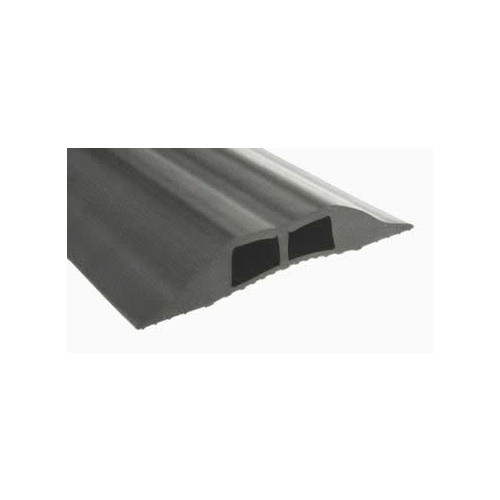 Grey Cable Cover   Hole Size: 16 x 10mm (3m lgth)