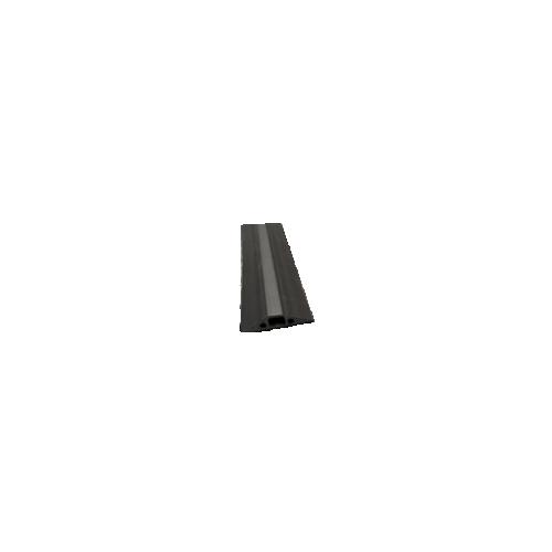 D-Line FC68B   1.8m Black Cable Cover Cavity 14 x 9mm (1.8m lgth)