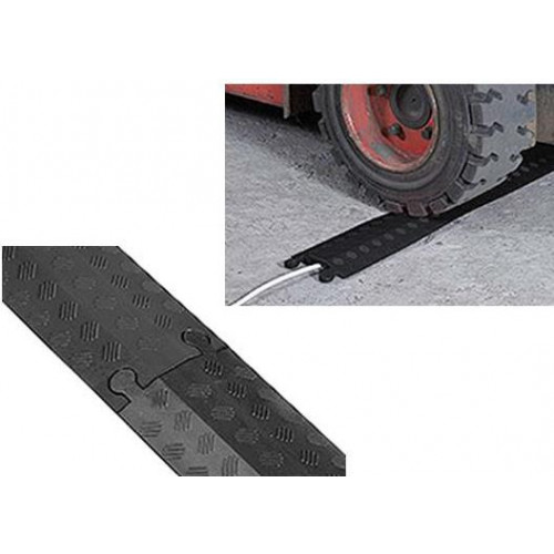 Black Single Channel Cable Cover ( 765mm ) (Each)