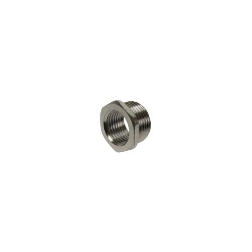 CMW Ltd  | 16mm Nickel-Brass Female to 20mm Male GOP/POD Box & Conduit Enlarger