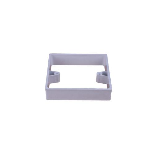 CMW Ltd  | 19mm Single Gang Extension Collar White