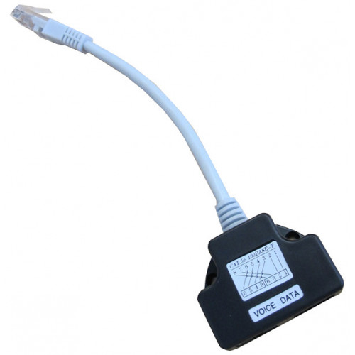 CMW Ltd    Data / Voice RJ45 Cable Economiser / Splitter