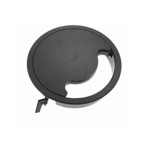 Grey Floor Grommet Circular 168mm Cut Out (Each)