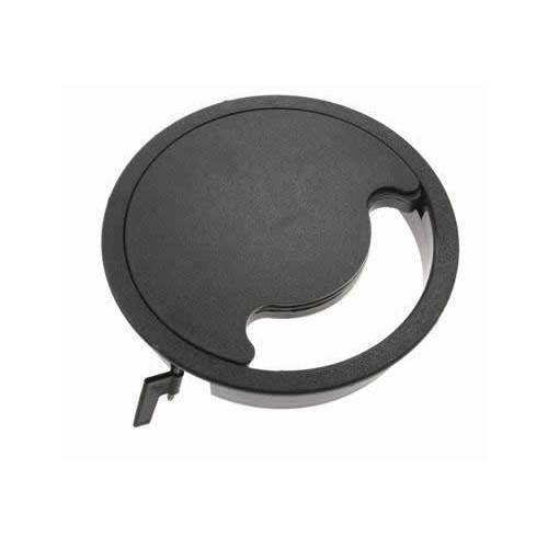 CMW Ltd, Floor Cable Grommets FGG169 | Grey Floor Grommet Circular 168mm Cut Out