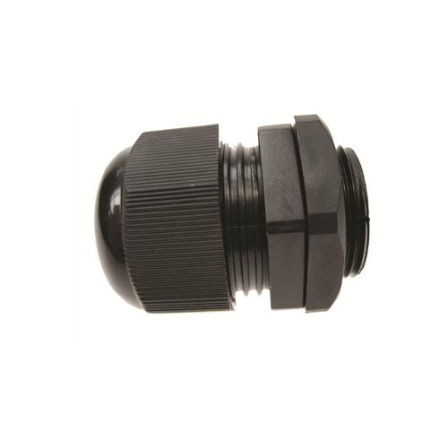 CMW Ltd    20mm Black Nylon Dome Top IP68 Cable Gland 4 -9mm