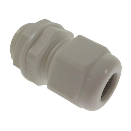 CMW Ltd  | 20mm White Nylon Dome Top IP68 Cable Gland 4 -9mm