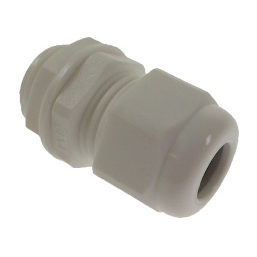 20mm White Nylon Dome Top IP68 Cable Gland 6-12mm (Each)