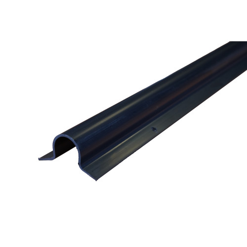 Black PVC-U Cable Protection Guard 25mm x 25mm 3m Length for Covering External Cables