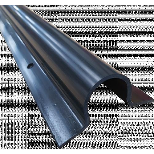 CMW Ltd CG25BK | 25mm x 25mm Black Cable Guard (3m lgth)