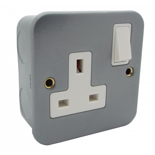 13a 1 Gang DP Switched Socket Outlet (Each)