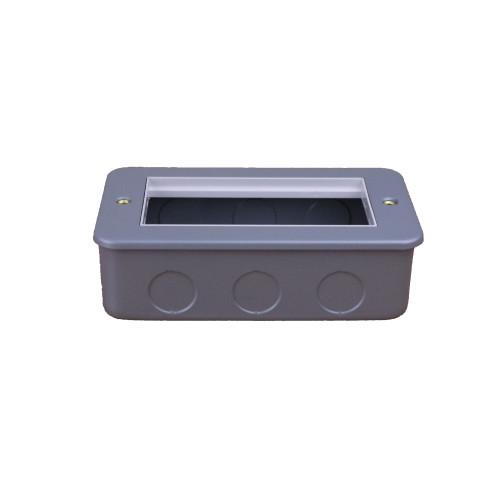 CMW Ltd CL312   Double Gang Metal Surface Media Box