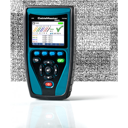 Softing CM800 CableMaster 800 Cabling Tester and Network Diagnostic Tool