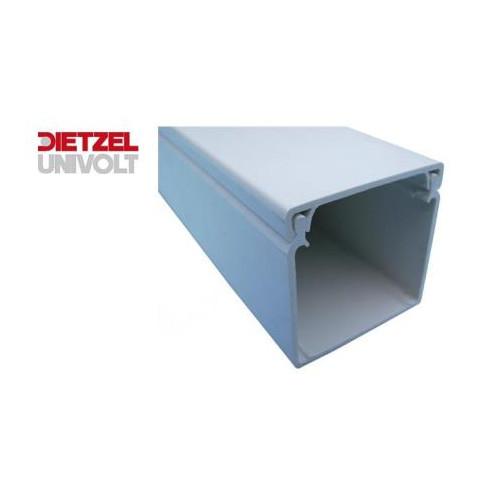 150mm wide x 50mm high PVC Maxi Trunking (3m lgth)
