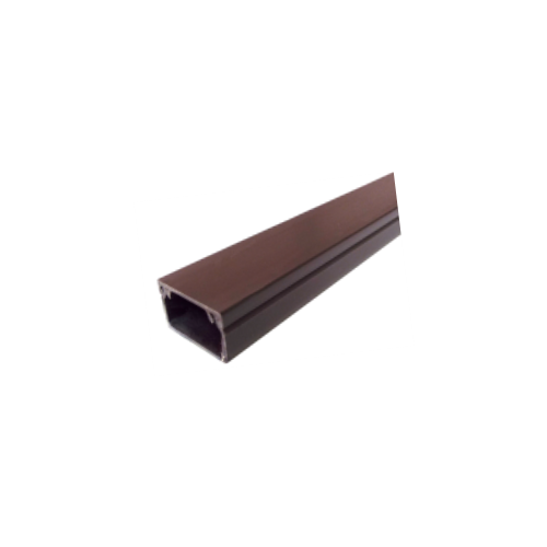 Dark Brown Self Adhesive 25mm x 16mm Mini Trunking 3m length (3m lgth)