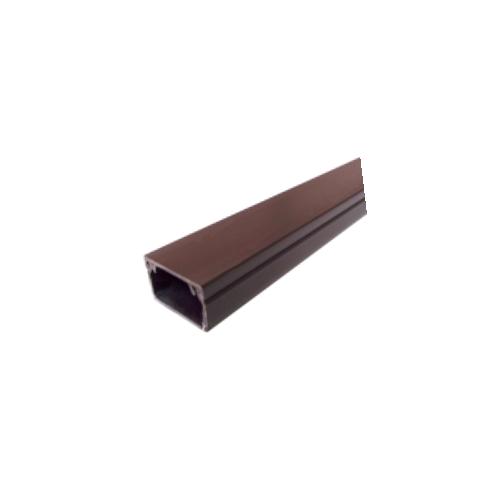 Dark Brown Self Adhesive 25mm x 16mm Mini Trunking 3m length (3m lgth)