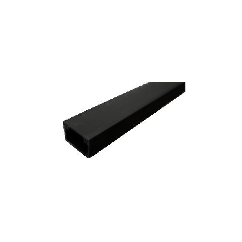 Black 38mm x 25mm Mini Trunking 3m length (3m lgth)