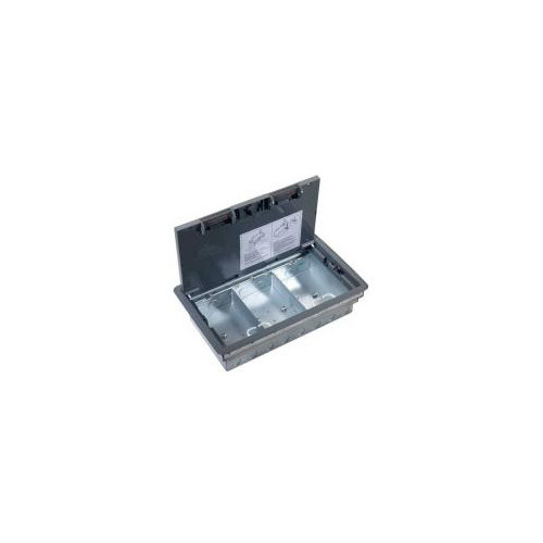 TASS TFB3S | 3 Compartment Floor Box 266mm x 212mm 80mm depth