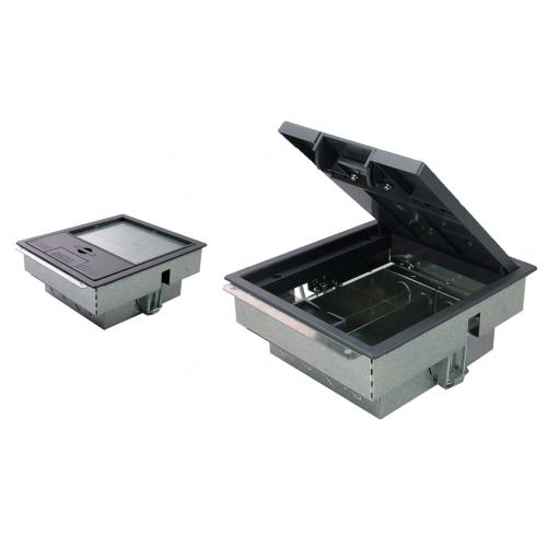 TASS TFB2S | 2 Compartment Floor Box 212mm x 190mm 80mm depth