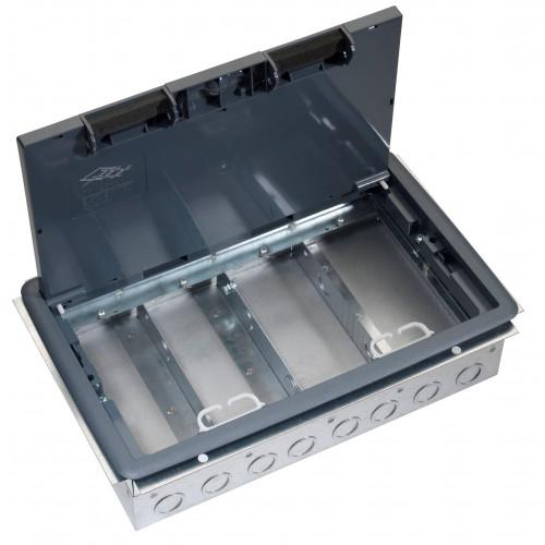 TASS TFB4/76 | 4 Compartment Empty Cavity Floor Box 303mm x 221mm 76mm depth