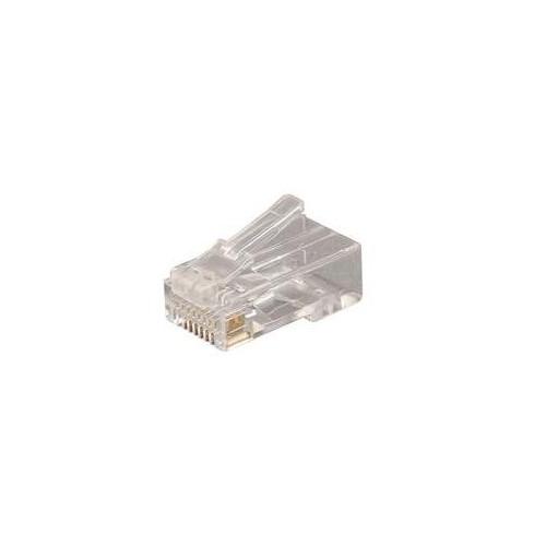 CMW Ltd PXSPDY6 | Rapido Cat5e RJ45 Plugs (Pack of 10)