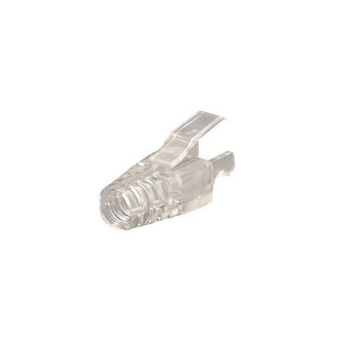 SPEEDYRJ45 PSPDY6 | Rapido Transparent Cat 6 RJ45 Boots (Pack of 10)