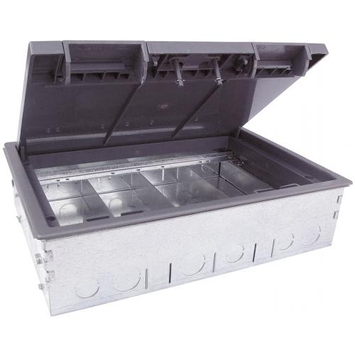 TSB4/75  | 4 Compartment Screed Floor Box