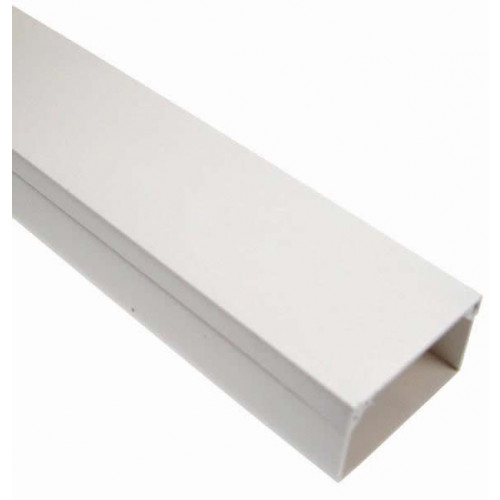 Dietzel Univolt 16mm x 16mm Standard PVC Mini Trunking 3m length White (3m lgth)