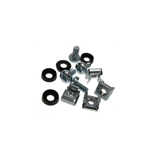 M6 Standard Cage Nut Set Silver Pack 50 (Bag / 50)