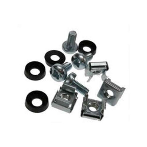 M5 Standard Cage Nut Set Silver Pack of 50 (Bag / 50)