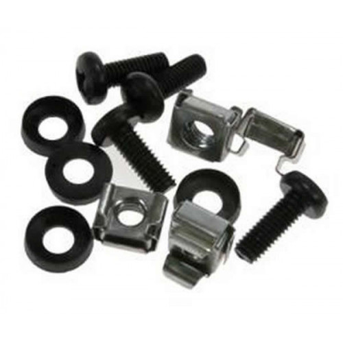 M6 Black Standard Cage Nut Set (Bag / 50)