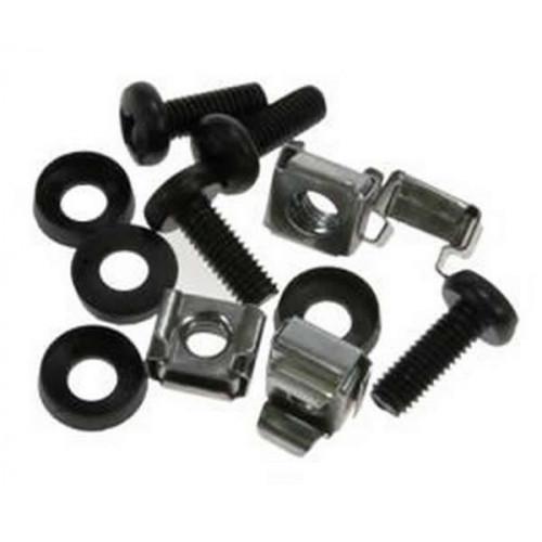 CMW Ltd  | M6 Black Standard Cage Nut Set (Bag / 50)