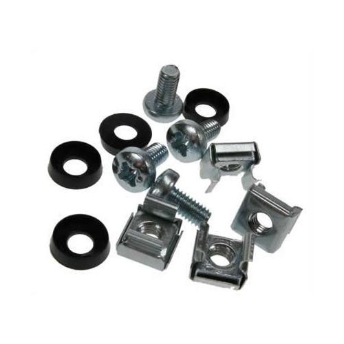 CMW Ltd  | M6 Standard Cage Nut Set Silver Pack of 25 (Bag / 25)