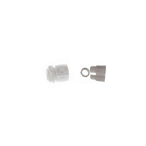 CMW Ltd  | 20mm White Gland & Locknut