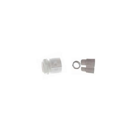 CMW Ltd    20mm White Gland & Locknut