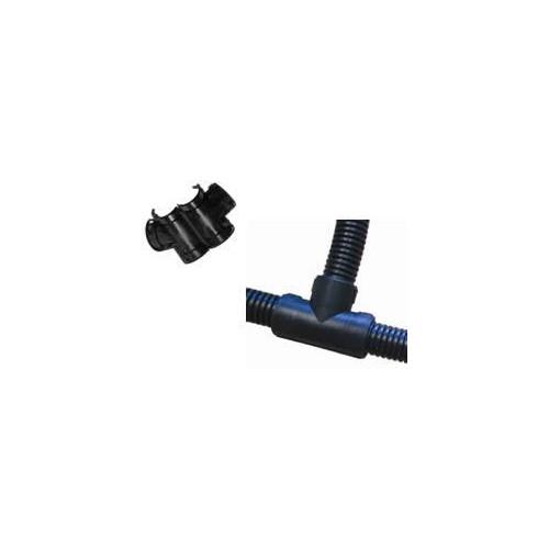 CMW Ltd  | 20mm Black Slit/Split Tee Piece