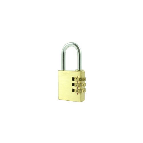 CP38  | 38mm Brass Combination Padlock