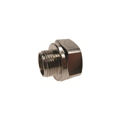 CMW Ltd  | 20mm Nickel Female to 16mm Male GOP/POD Box & Conduit Reducer