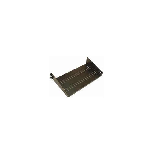 CMW Ltd    Black 2u x 250mm Cantilever Shelf