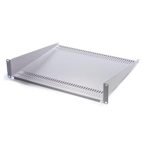 Grey 2u x 250mm Cantilever Shelf (Each)
