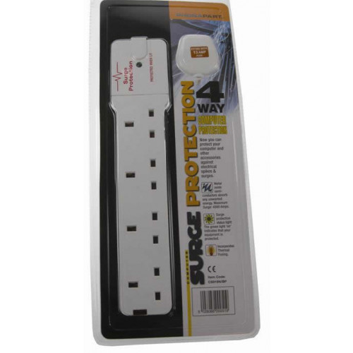 4 gang Surge Protected Socket (Each)