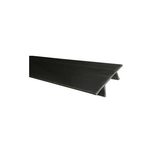 Black Channel Cover Strip (3m lgth)
