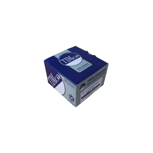 "CMW Ltd 10112CWZ | 10 x 1.1/2"" BZP CSK Woodscrews (Box/200)"