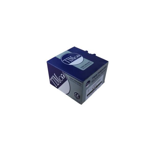 "CMW Ltd 00082CWZ | 8 x 2"" BZP CSK Woodscrews (Box/200)"