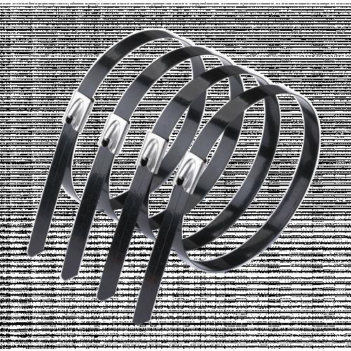 200mm Coated Stainless Steel Tie (Bag / 100)