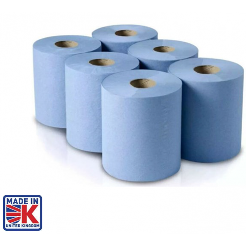CMW Ltd    Centrefeed Wiping Rolls ( Pack of 6 )