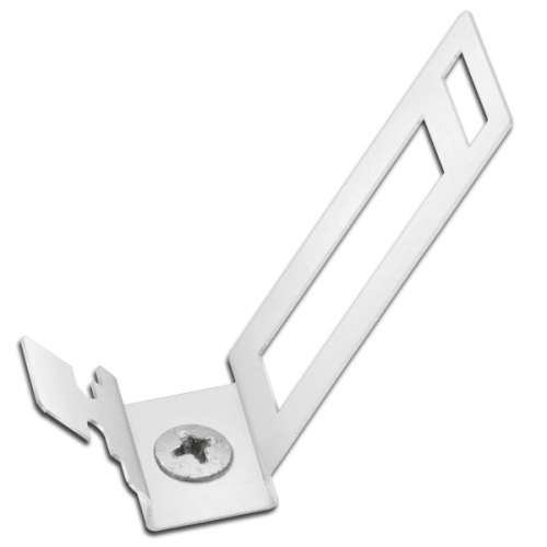 25mm White Conduit Clip (Pack of 20)
