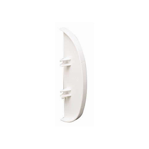 Marshall Tufflex PVC White Odyssey Dado Trunking End Cap (Each)
