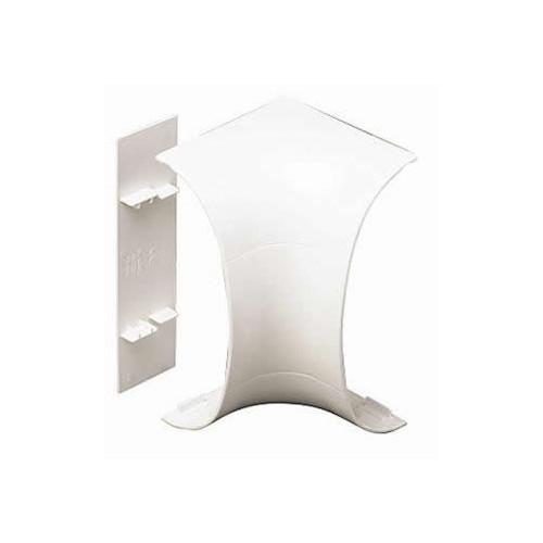 Marshall-Tufflex  DD1310WH | Marshall Tufflex PVC White Odyssey Dado Trunking Internal Bend