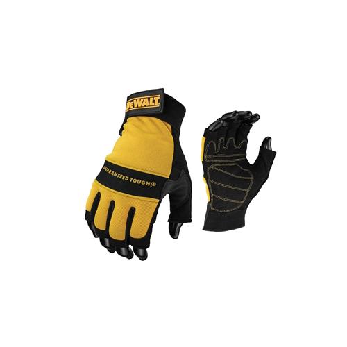 DPG23L  | Padded Fingerless Gloves (Per/pair)